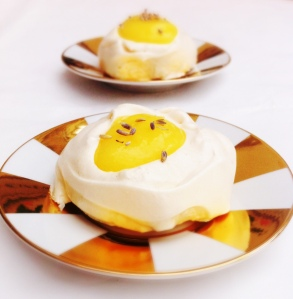 Lemon Meringue Nests - Easter Mini Fried Eggs