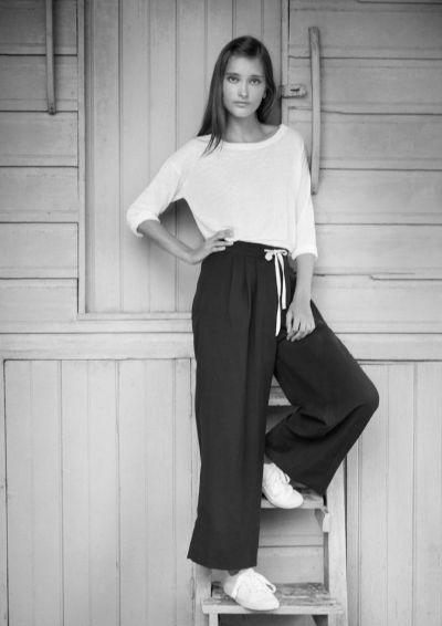 Wide Leg Trousers 9